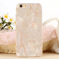 New Marble Stone iPhone 7 7 Plus iPhone se 5s 6 6s Plus Case Cover + Gift Box