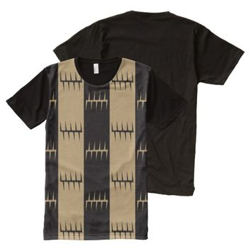 Tribal Stripes All-Over-Print T-Shirt