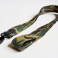 Green Camo Keychain Lanyard Womens Fashion Accessories ID Fabric Lanyard Badge or ID Holder Camo Fashion Camouflage Accessories