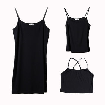 Summer Camisole Bottoming Shirt [6308612612]