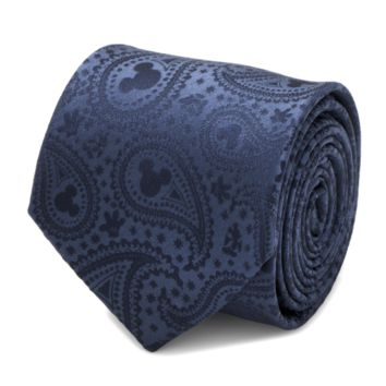 Mickey Mouse Navy Paisley Men's Tie BY DISNEY