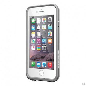The White/Gray iPhone 6/6s LifeProof frē WaterProof Case