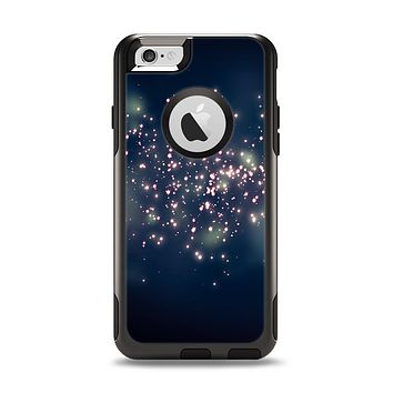 The Dark & Glowing Sparks Apple iPhone 6 Otterbox Commuter Case Skin Set