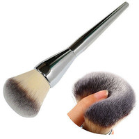 Very Big Beauty Powder Brush Makeup Brushes Blush Foundation Round Make Up Large Cosmetics Aluminum Brushes Soft Face Makeup