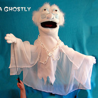 Ghost Hand Extra Large Hand Puppet Ventriloquist Puppet