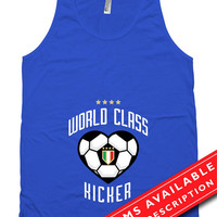 Soccer Pregnancy Announcement Tank Top Gifts For Expecting Mothers Soccer Shirts For Mom Italian Soccer American Apparel Tanks MD-644