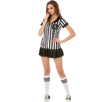 Risque Referee Adult Costume, M