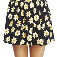 Daisy Challis Skater Skirt | Wet Seal