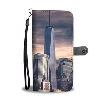 One World Trade Center Phone Wallet Case