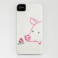 P Pig iPhone & iPod Case by Penguin & Fish | Society6