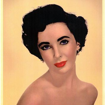 Elizabeth Taylor 11x17 Movie Poster (1966)