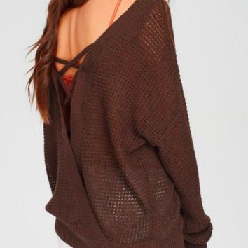 Fire and Ice Cocoa Bean Sweater