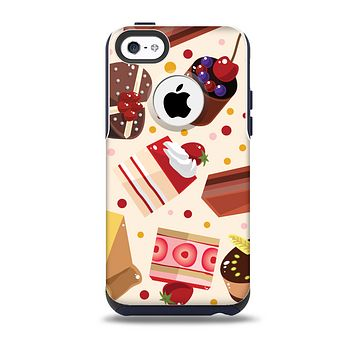 Yummy Dessert Pattern Skin for the iPhone 5c OtterBox Commuter Case