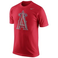 Nike Los Angeles Angels of Anaheim Pattern Logo Tee - Men
