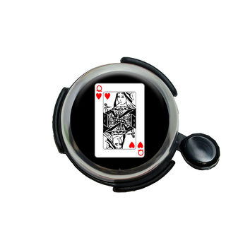 Playing Cards Queen of Hearts Bicycle Handlebar Bike Bell