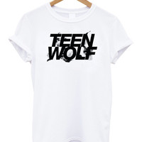 Teen Wolf logo Shirt Lose your mind shirt 5 stilinski tshirt