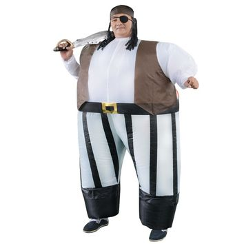 Stag night Halloween costume cosplay Adult costumes Fancy Dress Inflatable Sumo Pirates of the Caribbean sexy anime suit