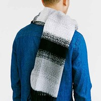 Ombre Stripe Boucle Scarf-