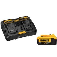 DEWALT, 20-Volt Max Lithium-Ion Battery Pack and Charger, DCB102BP at The Home Depot - Mobile