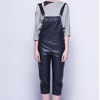leather overalls--1444