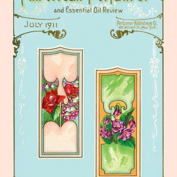 American Perfumer and Essential Oil Review, July 1911 20x30 poster