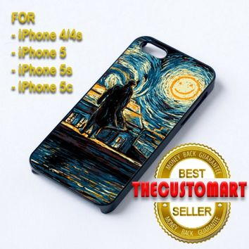 Starry Fall Sherlock - For iPhone 5 Black Case Cover