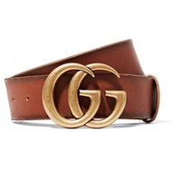 LV tide brand female classic double G head simple wild smooth buckle belt