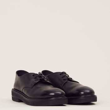 Totokaelo - Marsell Black Metallic Parracca Derby - $522.00