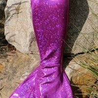 Fin Fun Mermaid Tail in Purple Tiger - Affordable and Swimmable