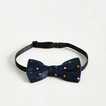It's the Dot That Counts Bow Tie | Mod Retro Vintage Scarves | ModCloth.com