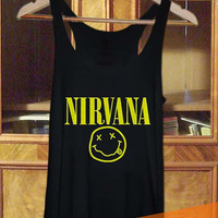 Nirvana  Tank top, T shirt, T shirt Girl, Tank top Ladies, Tank top Mens in TanktopUs