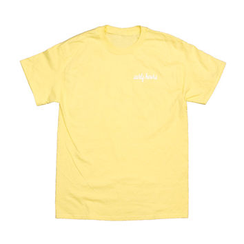 Pastel Candle Tee in Yellow