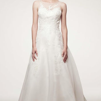 KCW1559 High Neck Wedding Dress by Kari Chang Eternal