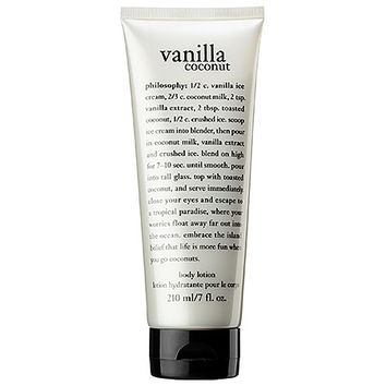 philosophy Vanilla Coconut Body Lotion (7 oz)