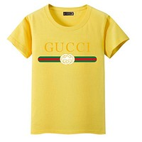 Day-First™ GUCCI Fashion Short Sleeve For Women (The size runs smaller a little) ten color