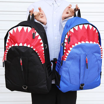 Shark Backpack School Bag