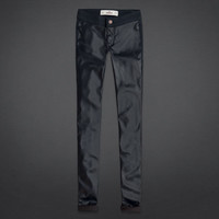 Hollister Vegan Leather Front Jegging