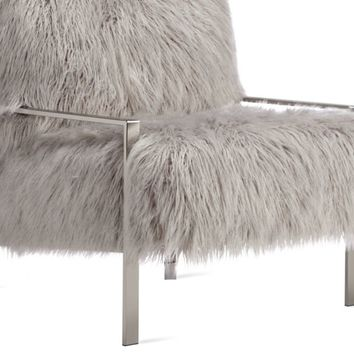 Axel Fur Accent Chair | Chairs | Living Room | Furniture | Z Gallerie