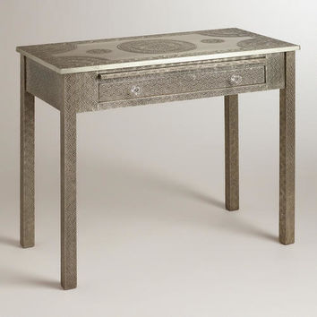 Metal Embossed Karissa Desk