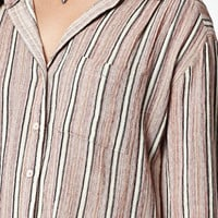 Billabong Traveling Coast Stripe Button-Down Shirt at PacSun.com