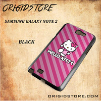 hello kitty For Samsung Galaxy Note 2 Case - Gift Present Multiple Choice