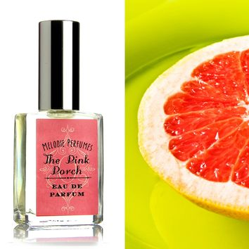 The Pink Porch perfume ™ spray. Melodie Perfumes. Lemondade, Grapefruit and berries.