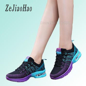 2016 fashion sport shoes brand casual shoes platform women shoes breathable woman trainers ladies sneakers chaussure femme qj861