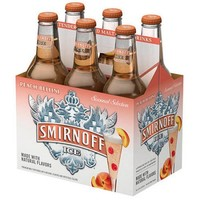 Smirnoff Seasonal Ice Peach Bellini, 6 Pack - Walmart.com