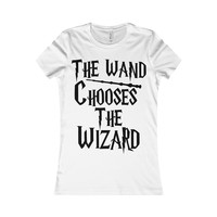 The Wand Chooses The Wizard Women's T-shirt