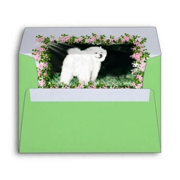 Matching Samoyed Encouragement Envelope; See Notes Envelope