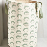 Woodland Creature A Test of Your Quill Power Laundry Bag by ModCloth