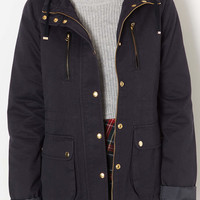 Tall Hooded Lightweight Jacket