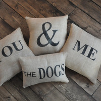 Me, The Dog, You Pillow Case Set -
