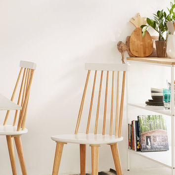 Lila Spindle Dining Chair Set | Urban Outfitters